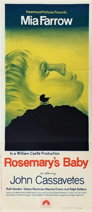 Rosemary's Baby Australian Daybill Movie Poster (10)