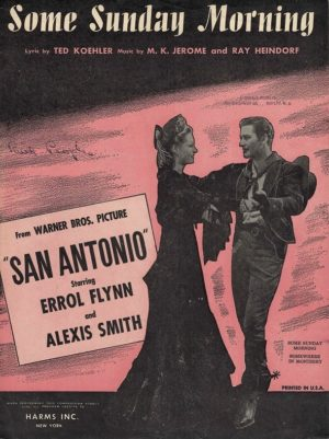 San Antonio Errol Flynn Us Sheet Music (33)