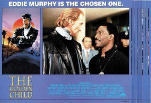 The Golden Child Uk Lobby Card Set With Eddie Murphy (3)