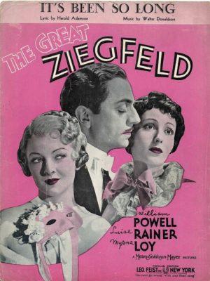 The Great Ziegfeld Us Film Sheet Music (19)