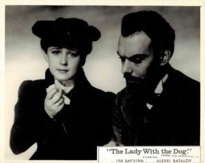 The Lady With The Dog Dama S Sobachkoy Soviet Still 1960 (3)
