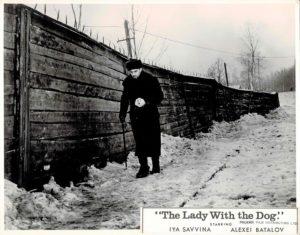 The Lady With The Dog Dama S Sobachkoy Soviet Still 1960 (4)