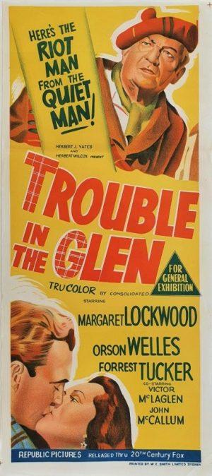 Trouble In Glen Australian Daybill Movie Poster (32)