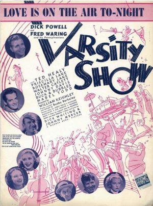 Varsity Show Us Film Sheet Music (16)