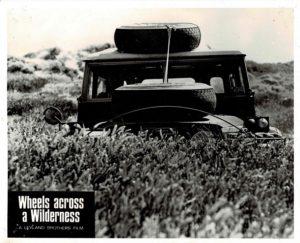 Wheels Across A Wilderness Australian Still (7) Old Landrover