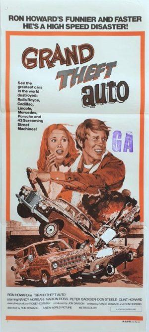 Grand Theft Auto Australian Daybil Movie Poster (38)