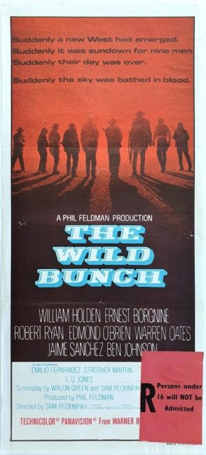 The Wild Bunch Australian Daybil Movie Poster (38)