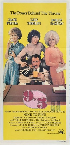 Working 9 To 5 Australian Daybill Movie Poster (3)