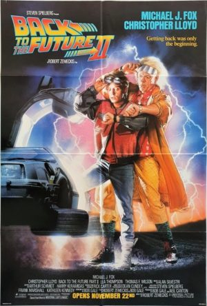Back To The Future Part 2 Us One Sheet Movie Poster (7)