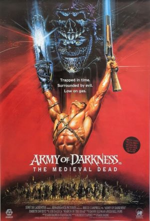 Evil Dead 3 Army Of Darkness Uk One Sheet Poster (7)