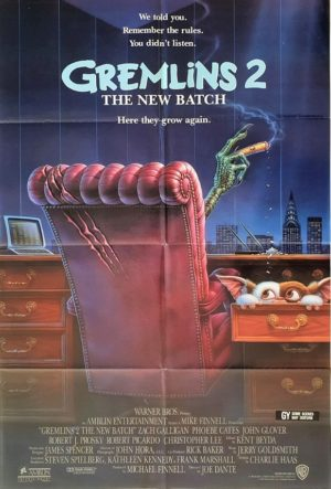 Gremlins 2 The New Batch Us One Sheet Movie Poster (3)