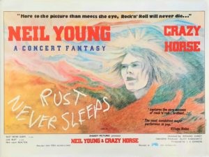 Neil Young Crazy Horse Rust Never Sleeps Uk Quad Poster (7)
