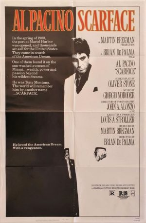 Scarface One Sheet Movie Poster (1)