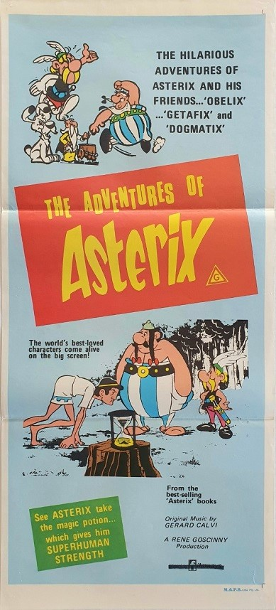 The Adventures Of Asterix Australian Daybill Movie Poster (16)