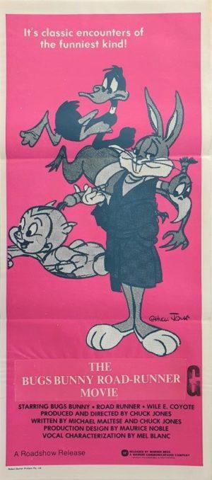 The Bugs Bunny Road Runner Movie Australian Daybill Movie Poster (4)