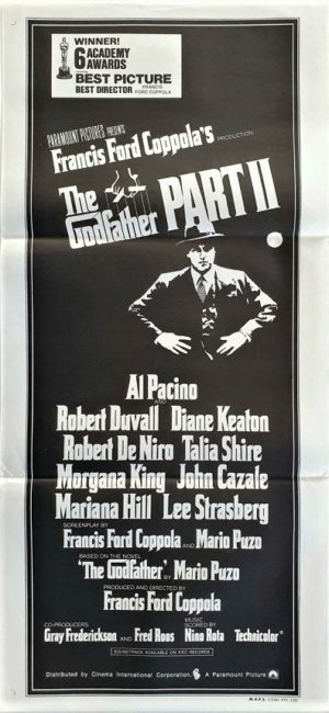 The Godfather Part 2 Australian Daybill Movie Poster (36)