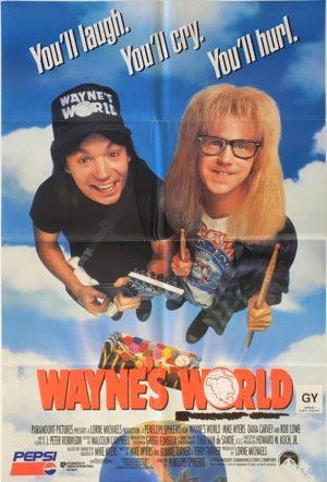 Waynes World One Sheet Movie Poster (10)
