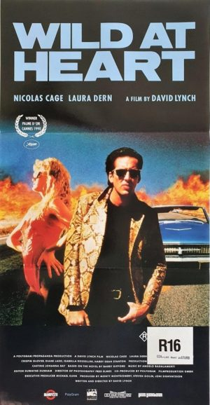 Wild At Heart Australian Daybill Movie Poster By David Lynch (2)